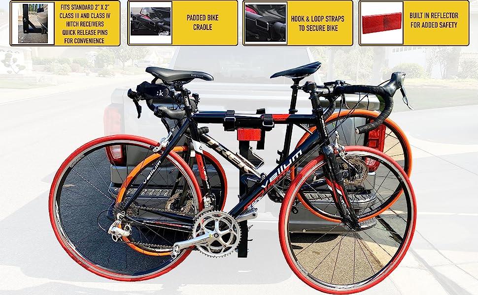Thule, Yakima, Allen, bike, rack, camping, outdoor, RV, hitch, MaxxHaul, SUV, bicycle, mountain