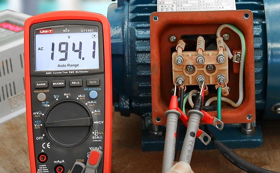 UNI-T Digital Multimeter UT139C