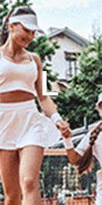 womens tennis skirts L