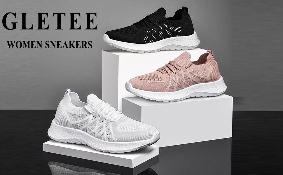 Gletee women's fashion sneakers
