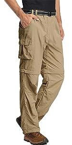 CONVERTABLE PANTS FOR MEN