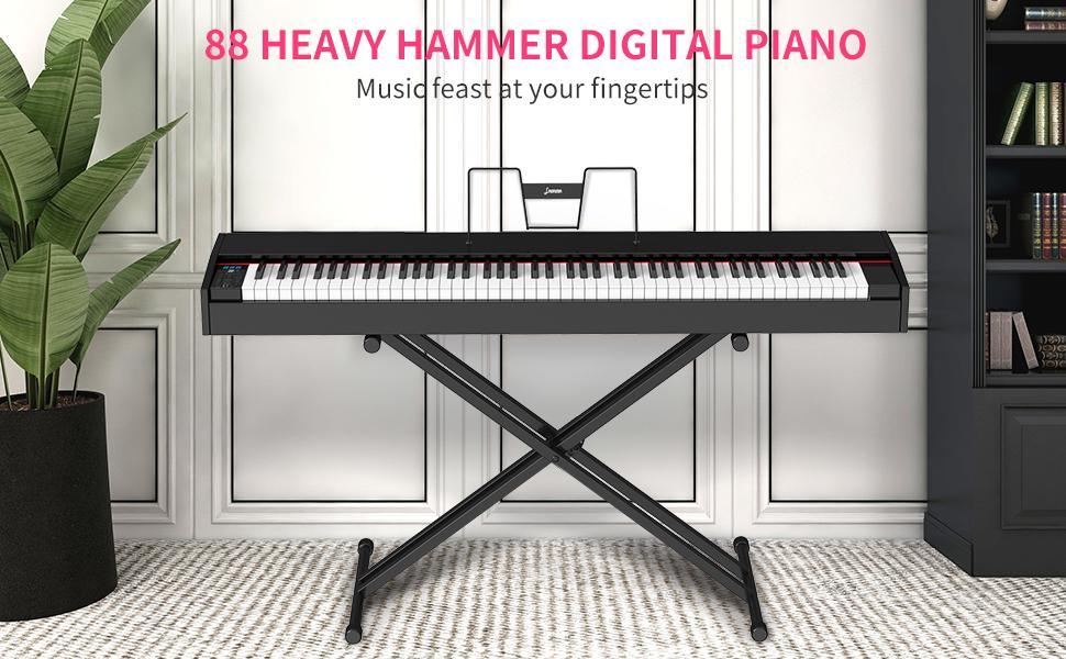 88 Key Weighted Hammer