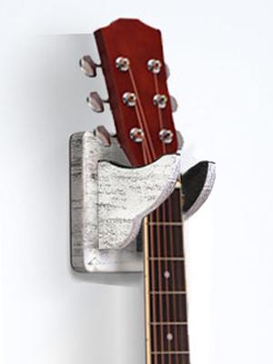guitar wall mount white