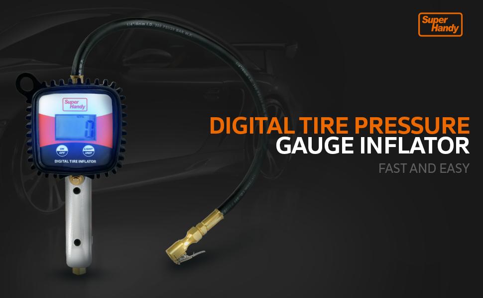 tire inflator TPMS gauge air compressor A102 chuck accessory part automotive wheel tools equipment