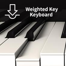 Counterweight Keyboard