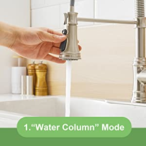 faucet for kitchen sink