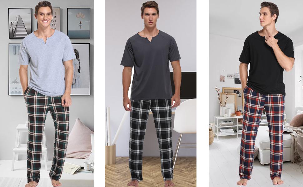 mens long sleeve sleepwear,mens lounge sets,mens lounge wear set,mens loungewear set short sleeve