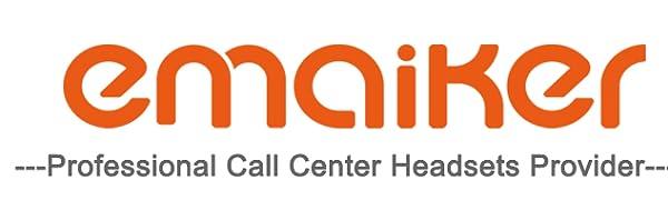 emaiker call center headset