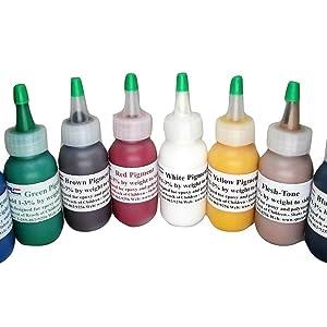 opaque pigment dye