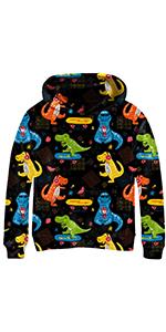 hoodies animal graphic print sweatshirt for teen