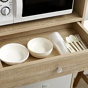 Stackable wood grain wooden dorm furniture for college students essentials supplies
