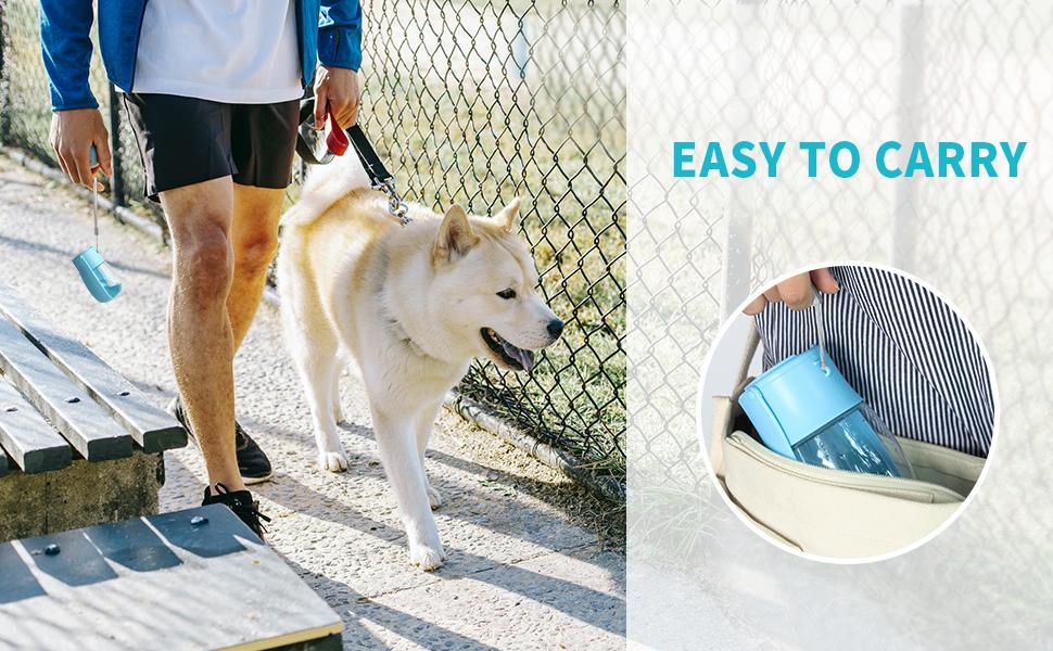 Pet Water Bottle for Dogs, Dog Water Bottle Foldable, Dog Travel Water Bottle, Dog Water Dispenser