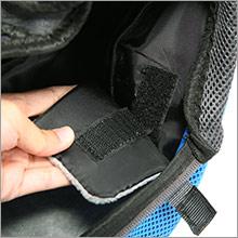 Velcro pad