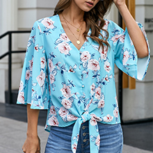 summer tops for women womens tops loose casual tops for women ladies elegant floral tops