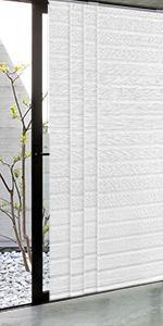 GoDear Design Pleated Woven Fabric Window Shade Blind, Swan