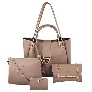 GM CREATIONS Handbag set of 4
