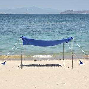 Beach Shade Canopy Tent Sun Shelter