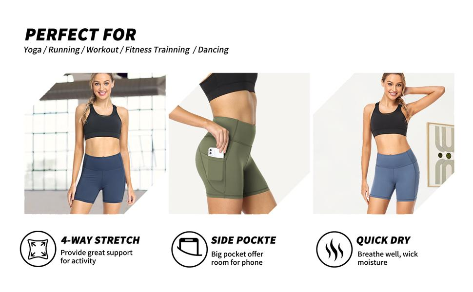 compression exercise shorts
