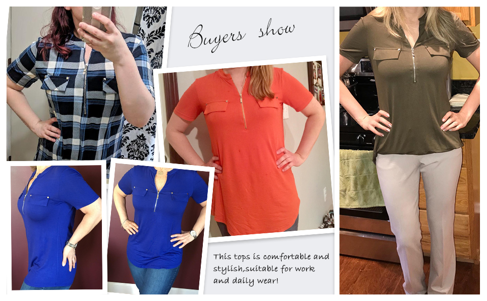 womens tops and blouses casual