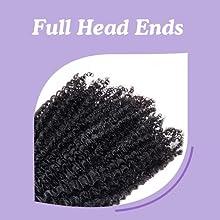 full hair ends