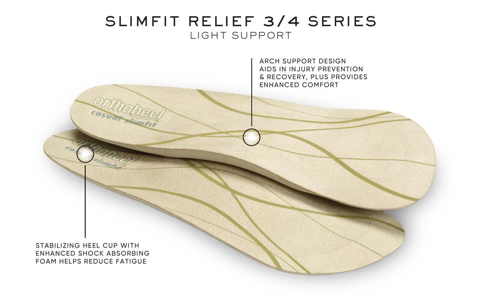 Vionic Full Length Slimfit Orthotic Insole