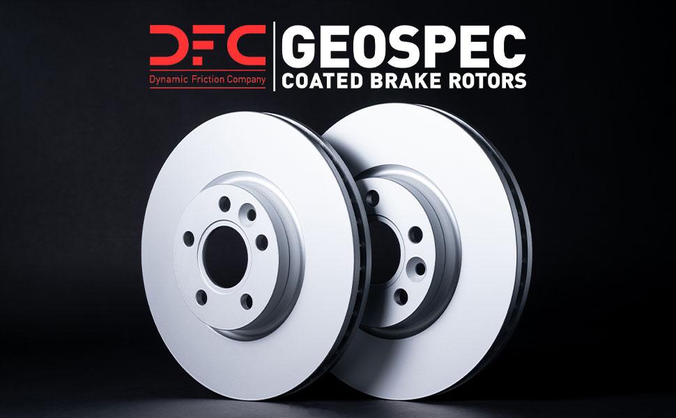 DFC GeoSpec Coated Brake Rotors