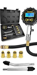 AZUNO Digital Compression Tester Kit