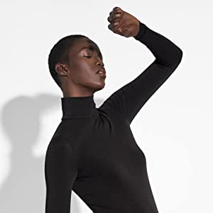 wolford,women,womenamp;amp;#39;s,pullover,turtleneck,top,shirt,sweatshirt,aurora,sustainability
