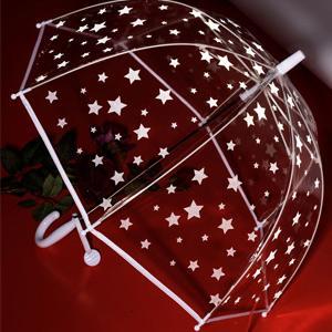 Umbrella stars will reflect in the dark, more safe