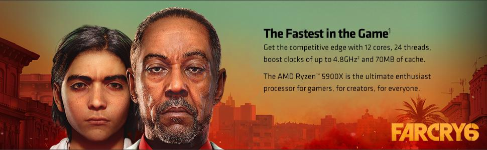 AMD ryzen 5950X processor motherboard gaming cpu