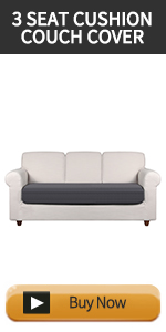 Cushion Couch Cover for 3 Seat Chair