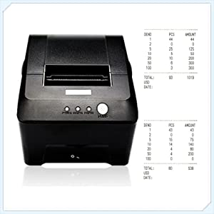 Optional printer for counting result printing