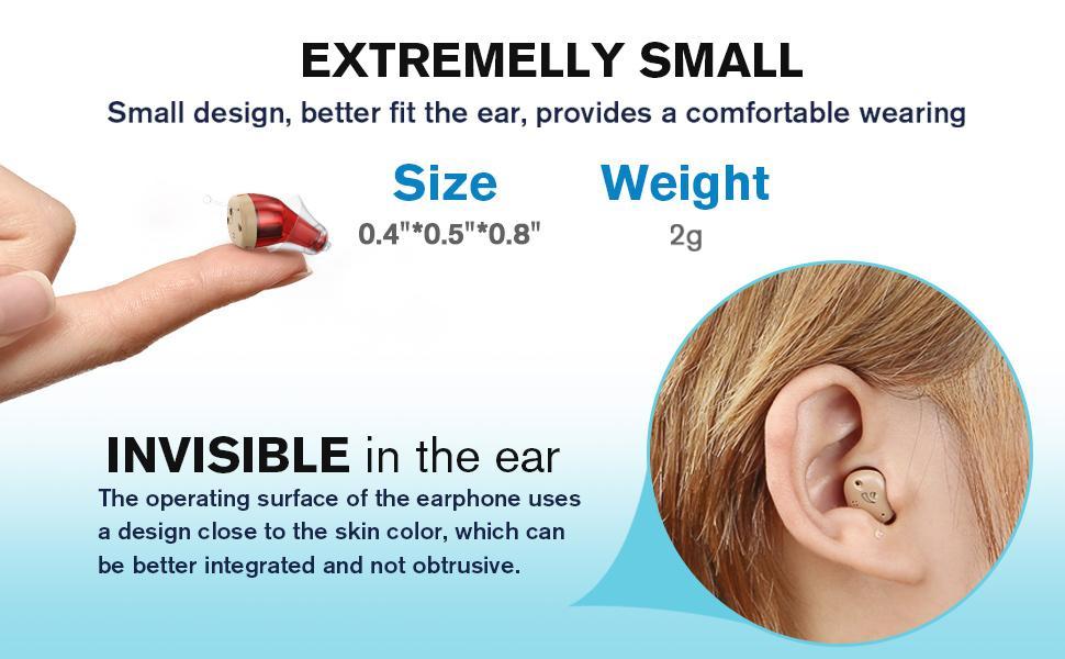 small hearing aid