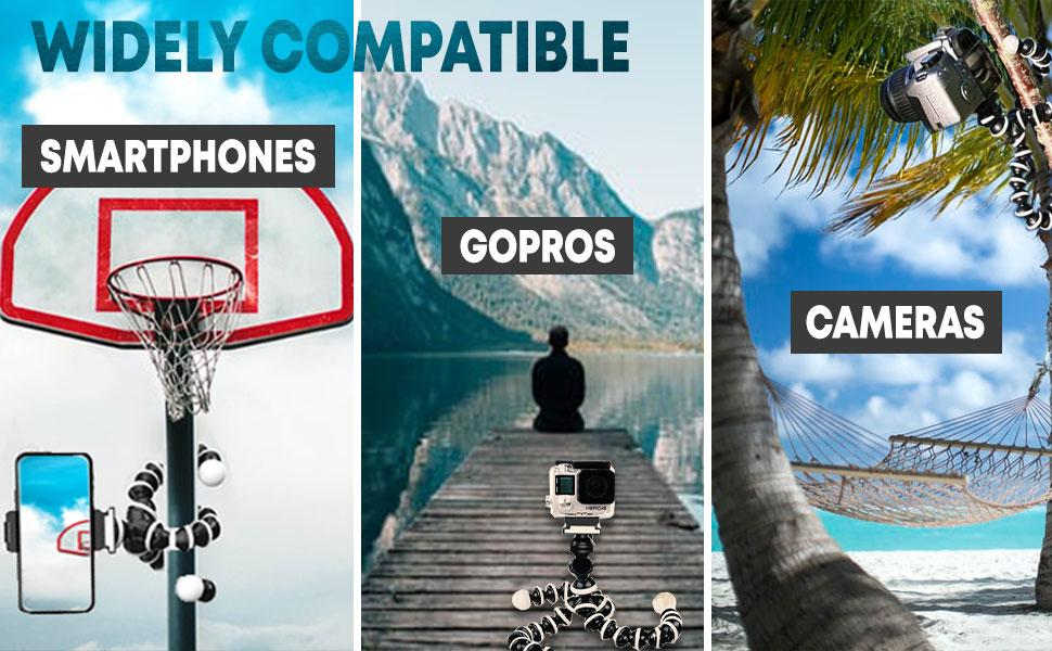 Tygot gorilla tripod compatibility