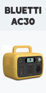 BLUETTI Portable Power Station AC30-Yellow
