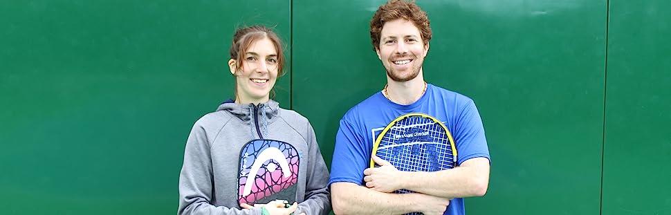 josh and kalindi pickleball and tennis racquets
