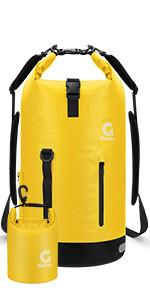Gonex waterproof dry bag yellow