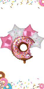 Donut Foil Balloons