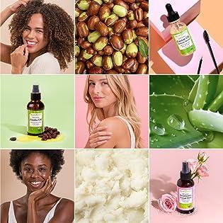 Sky Organics, castor oil, jojoba oil, rosewater, aloe vera, shea butter