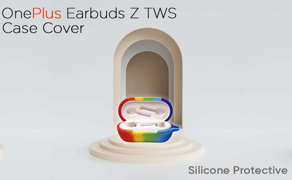Silicone Protective Case Cover for OnePlus Earbuds Z TWS