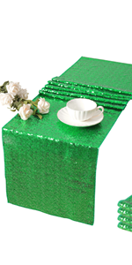 Glitter Table Runner for Parties