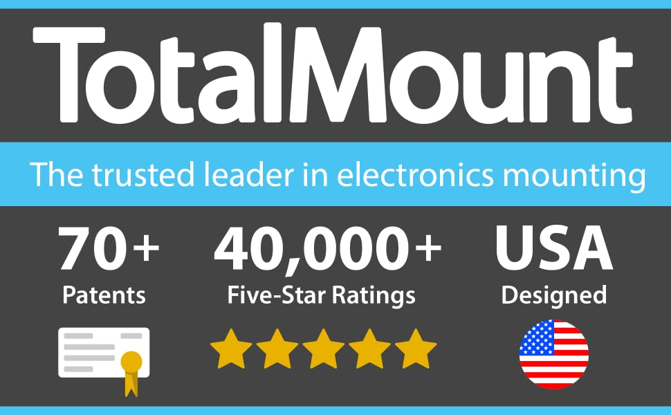TotalMount - The trusted leader in electronics mounting.