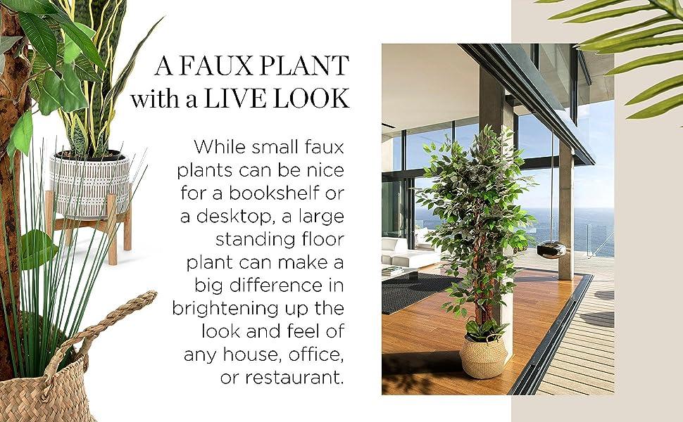 floor plants artificial, artificial palm tree, fake potted plants, faux tree, trees, fake palm tree