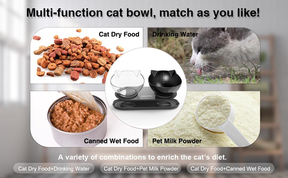 Multi-function Cat Bowl