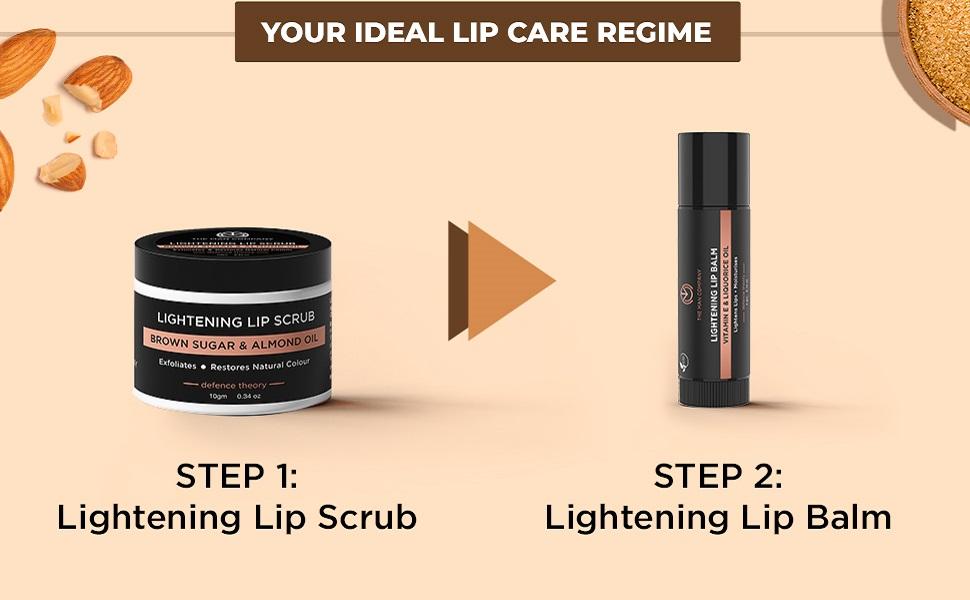 lip scrub balm dry soft skin  almond oil brown sugar