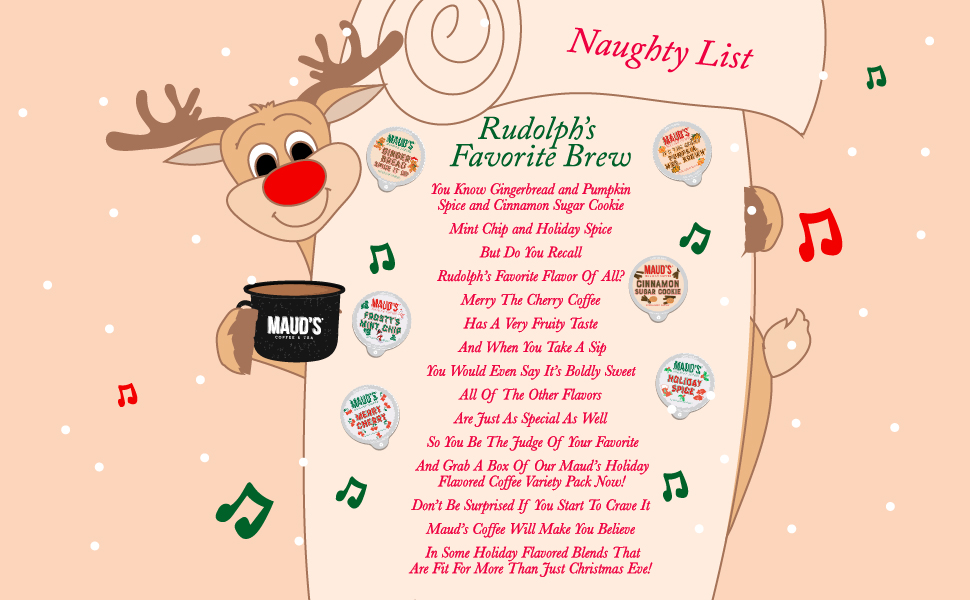 Holiday Variety Pack Coffee Pods
