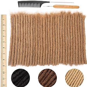 real human hair dreadlock extensions