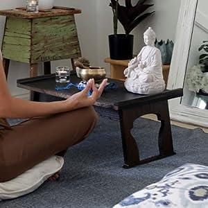 meditation table for meditation corner home decor altar table for buddha statue