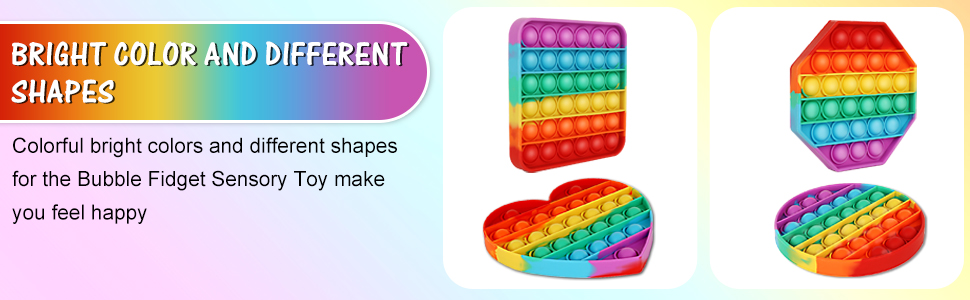Bright Color And Different Shapes