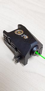 green laser for pistol